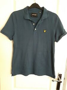 Mens lyle and scott polo shirt large
