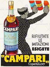 Campari l aperitivo. ca. 1934 ART PRINT posterhome Decor BB8064B