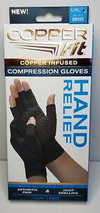 Copper Fit Hand Relief Compression Gloves - Large/Extra Large - As Seen on TV!
