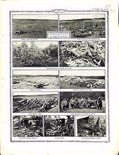 Offensive en Champagne Champ de Bataille du Bois Sabot Tombes Feldgrau 1914 WWI
