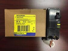 BRAND NEW SquareD QO220GFI QO220  2Pole 20Amp 120/240Volt Plug-In Groundfault