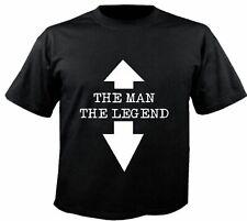 Motiv Fun T-Shirt The Man The Legend Legende Spass Motiv Nr. 3129
