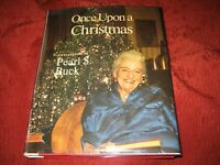 ONCE UPON A CHRISTMAS HARDCOVER PEARL S BUCK SIGNED