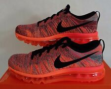 New Womens 10.5 NIKE Air Max Flyknit Hyper Punch Shoes $225 620659-601