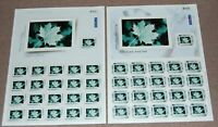 Canada 2004 Picture Postage sheets set of 2  #2063 - 2064 (panes of 21) MNH