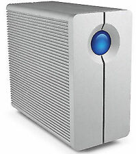 LaCie 2big Quadra 8tb USB 3.0 FireWire Lac9000317