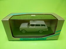 MINICHAMPS 43010 OPEL KADETT A  CARAVAN 1962-1965 - GREY 1:43 - GOOD IN BOX