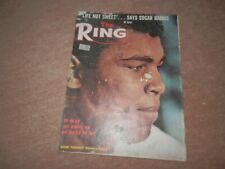 The Ring Boxing Magazine Cassius Clay Muhammad Ali Cover June 1963