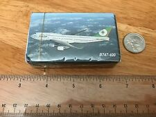 Eva Air Inflight Playing Card-Boeing B747-400, Brand New, Sealed (S) (#3)