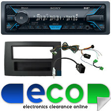 Volvo XC90 2002 On SONY Mechless Bluetooth DAB Car Stereo Fascia Fitting Kit