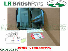 GENUINE LAND ROVER EXTERIOR MIRROR GLASS RANGE ROVER 05-09 RH OEM CRD500260