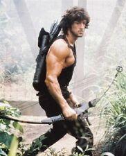 Sylvester Stallone As John Rambo holding bow FB Part II 11X14 PHOTO