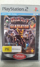 Ratchet Gladiator PS2 Game PAL Version