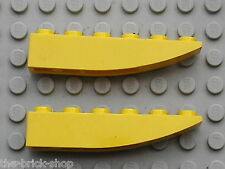 LEGO Yellow slope brick ref 500 / sets 7774 7344 4888 8113 8275 4513 3178 6736..