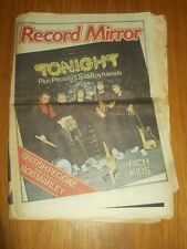RECORD MIRROR FEBRUARY 11 1978 RICH KIDS BOB MARLEY JEFF LYNNE BLONDIE