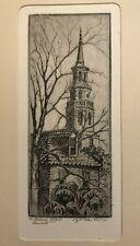 Rare Original Etching by Elizabeth O'Neill Verner - Charleston, South Carolina
