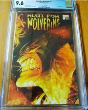 Hunt For Wolverine #1  Kubert Retailer Incentive 1:500 CGC 9.6