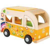 Legler small foot design Spielbus Hippie aus Holz ab 18 Monate 2744