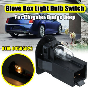 Front Glove Box Light Bulb Switch For Chrysler for Dodge for Jeep #04565022 K