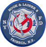 NEW YORK FIRE DEPARTMENT HOUSE PATCH: Hook & Ladder 8, Tribeca, Ghostbusters