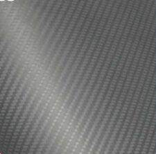 3D Folie Carbonfolie Klebefolie GRAU Carbon f. Auto, laptop, Handy 30 x 100cm