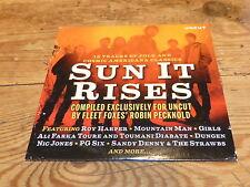 VARIOUS - UNCUT sun it rise !!!!!!!!!!! RARE CD PROMO