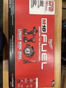 Milwaukee 2998-24 M18 FUEL 4PC Combo Kit