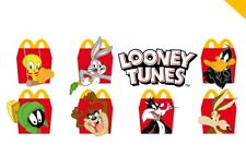 McDonald's Looney Tunes Road Runner Wile E Coyote Tweety