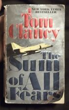 THE SUM of ALL FEARS Paperback Book by TOM CLANCY