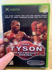 Mike Tyson Heavyweight Boxing-Xbox Spiel-ORIGINAL & KOMPLETT-Retro