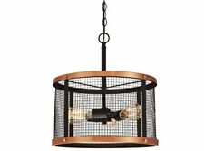 Westinghouse Pendant Fitting Emmet Bronze and Copper with Wire Mesh and 3 Lights