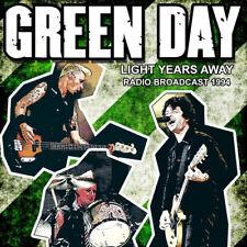 Green Day : Light Years Away: Radio Broadcast 1994 CD (2016) ***NEW***