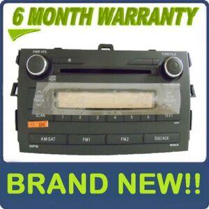 NEW 2009 2010 Toyota Corolla Satellite Radio CD Player 6 Month Warranty!