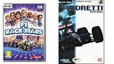 andretti racing & f1 race stars  new&sealed