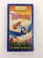 SEALED Goodtimes Thumbelina The Version Children Love Movie VHS Video Tape 1993
