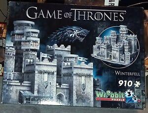 Wrebbit Game of Thrones Cardboard Puzzle - 910 Pieces