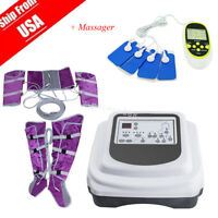 Air Pressure fat burnning Lymph Drainage Toxin Weight Loss Therapy Sliming Fast!