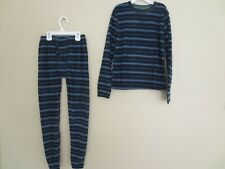 EUCBoy Medium 8 Climate Right CUDDL DUD MicroFleece Long Underwear Base Layer PJ