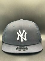 New York Yankees Classic Trucker New Era 9FIFTY Snapback Original Fit - Navy
