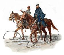 """Stonewall Jackson and Pendleton - American Civil War"" - Don Troiani"