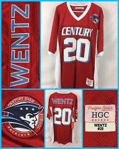 Men's CARSON WENTZ Colts #20 Century HIGH SCHOOL Jersey 2XL - Headgear Classics