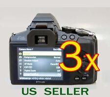 3x Olympus Stylus SP-100EE Digital Camera LCD Screen Protector Guard Shield Film