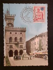 SAN MARINO MK 1960 LIONS CLUB MAXIMUMKARTE CARTE MAXIMUM CARD MC CM c7910