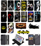 BATMAN SUPERHERO DC comic Wallet Phone Case Flip Case iPhone 4 5 6 7 8 Plus X