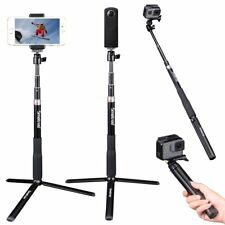 Smatree Selfie Stick with Tripod Stand for GoPro Hero Fusion/6/5/4/3+/Session