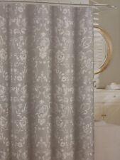 "Tahari Home Napoli Scroll Fabric Shower Curtain 72"" x 72"" NIP"