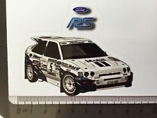 Sticker / Aufkleber, Ford Escort RS Cosworth Mobil1 #5 Rallye Portugal