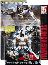 Transformers Deluxe Class ~ Protectobot GROOVE Action Figure ~ Combiner Wars