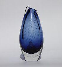 Glass vase Controlled bubbles,  Gunnel Nyman, vintage. 1950s