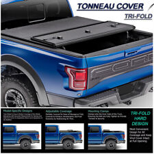 Fits 2004-2018 Ford F150 Lock Hard Solid Tri-Fold Tonneau Cover 5.5ft Short Bed